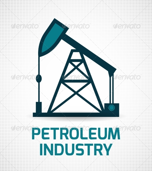 Oil Industry Poster by macrovector | GraphicRiver
