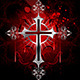 Gothic Silver Cross - GraphicRiver Item for Sale