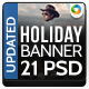 Travels Banner Set - Updated with 21 Sizes - GraphicRiver Item for Sale