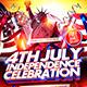 Independence Celebration Flyer Template  - GraphicRiver Item for Sale