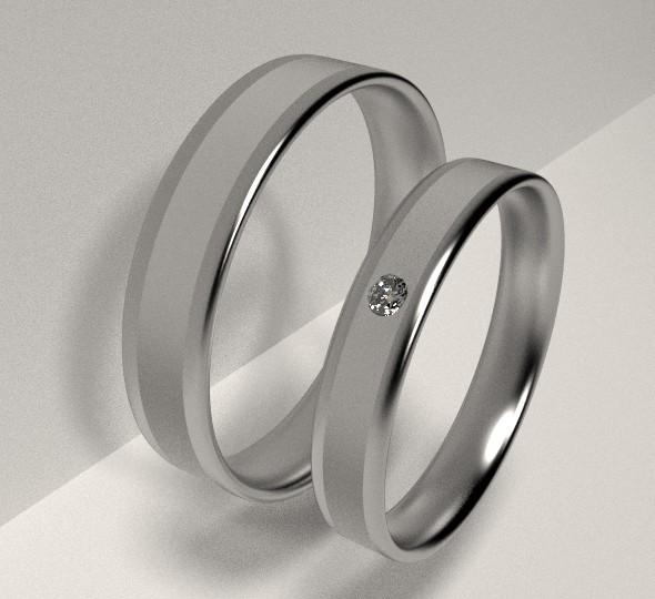 Engagement Rings - 3DOcean Item for Sale