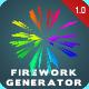 Firework Generator - VideoHive Item for Sale