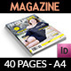 Regular Life Magazine Template - 40 Pages - GraphicRiver Item for Sale
