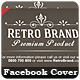 Retro Brand - Facebook Cover - GraphicRiver Item for Sale