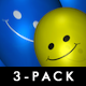 Smiley Balloons (3-Pack) - VideoHive Item for Sale
