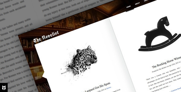 Free Download The Novelist: Responsive WP Theme for Writers Nulled Latest Version
