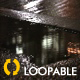 Night Raining Sidewalk - HD Loop - VideoHive Item for Sale
