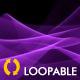 Pink Curling Waves - HD Loop