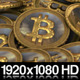 Pile of Golden Bitcoin Virtual Currency - VideoHive Item for Sale