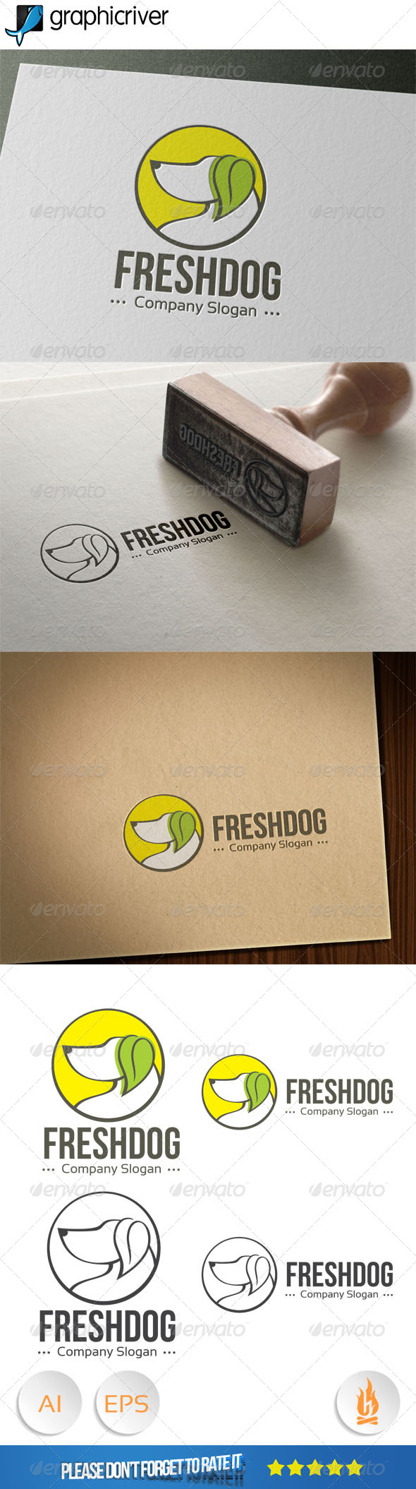 Fresh Dog Logo