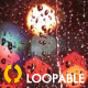 Rainy Night Glass - HD Loop - VideoHive Item for Sale