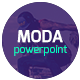 MODA - Modern Powerpoint Template  - GraphicRiver Item for Sale