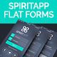 SpiritApp - Flat Form Elements - GraphicRiver Item for Sale