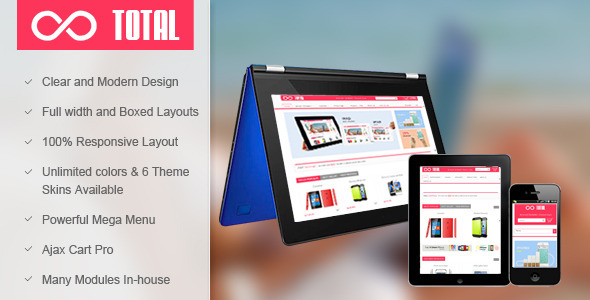 SM Total – Responsive Multi-Purpose Magento Theme