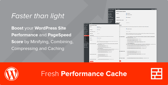 Fresh Performance Cache - WordPress Plugin - CodeCanyon Item for Sale