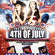 Independence Day Flyer July 4th  - GraphicRiver Item for Sale