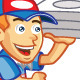 Pizza Delivery Boy Running Sprite - GraphicRiver Item for Sale