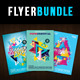Abstract Pop Color Vol. 1 Flyer Bundle - GraphicRiver Item for Sale