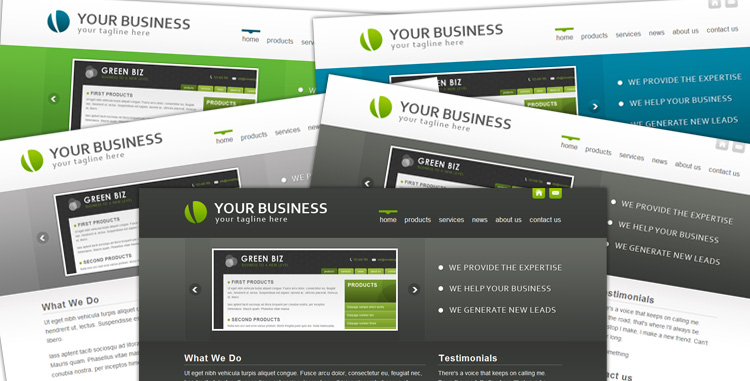 Free Download BlueCorp/GrayCorp - Multi-Use Business Template Nulled Latest Version