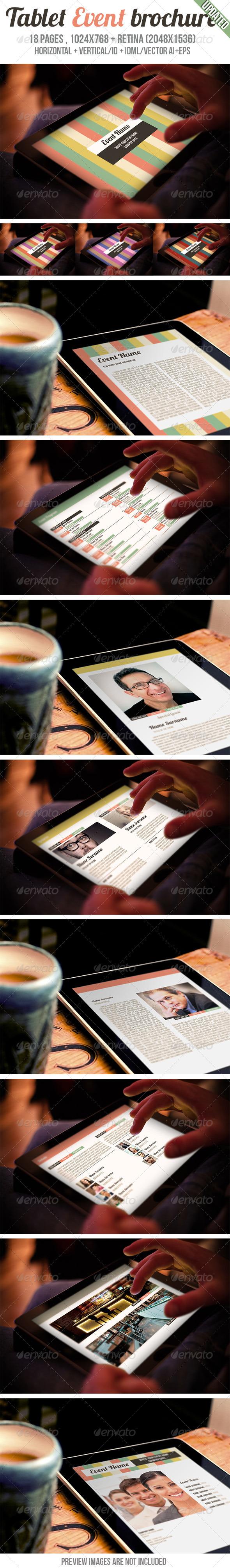 iPad & Tablet Event Brochure - Digital Magazines ePublishing