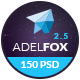 AdelFox | Multi-Purpose PSD Template Nulled