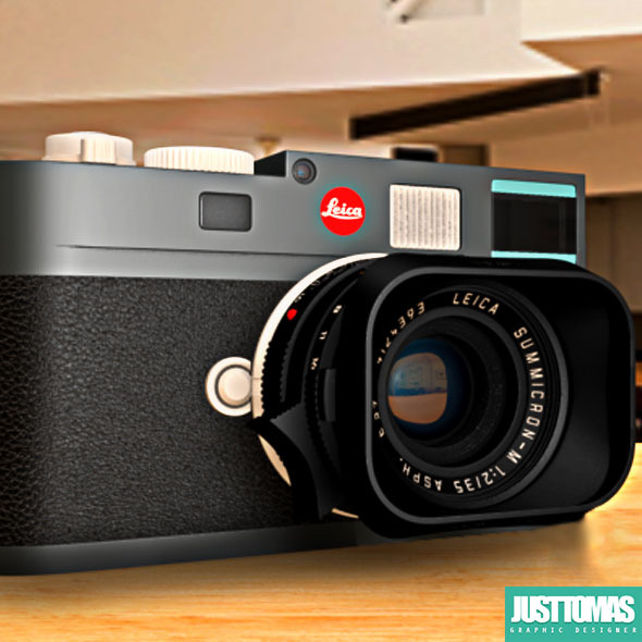 Leica M-E - 3DOcean Item for Sale
