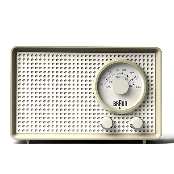 Braun SK2 transistor radio - 3DOcean Item for Sale