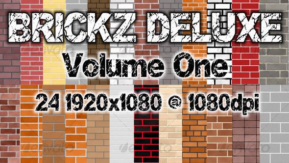 BRICKZ DELUXE Volume 1 - TTD - Concrete Textures