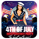 4th of July Independence Day | Flyer Template - GraphicRiver Item for Sale
