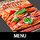 Italian Pizza Restaurant Menu Template - GraphicRiver Item for Sale
