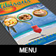 Caribbean Restaurant Menu Template - GraphicRiver Item for Sale
