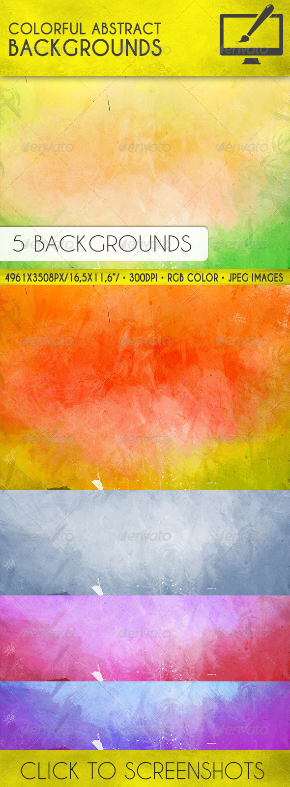 Colorful Abstract Backgrounds - Backgrounds Graphics