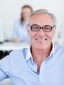 Senior manager wearing glasses - PhotoDune Item for Sale
