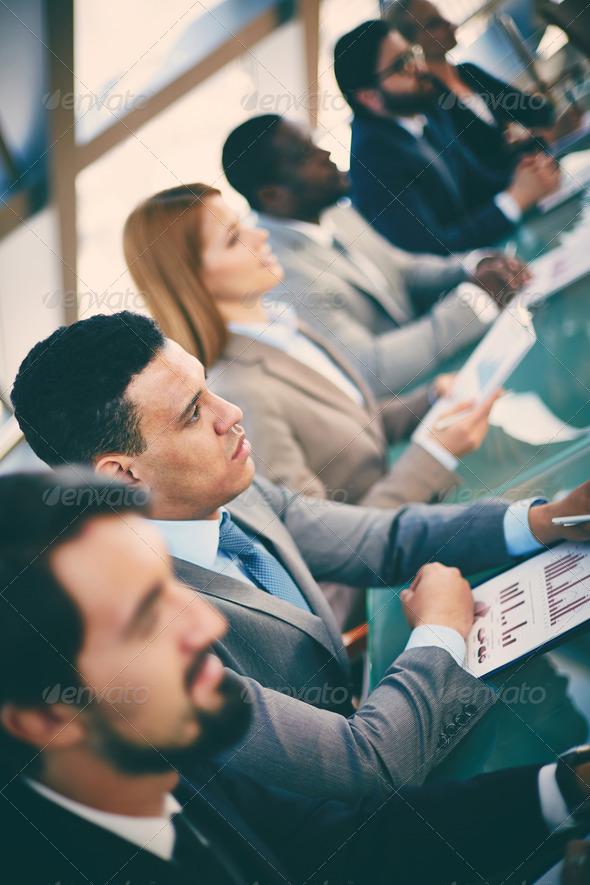 Studying marketing - Stock Photo - Images