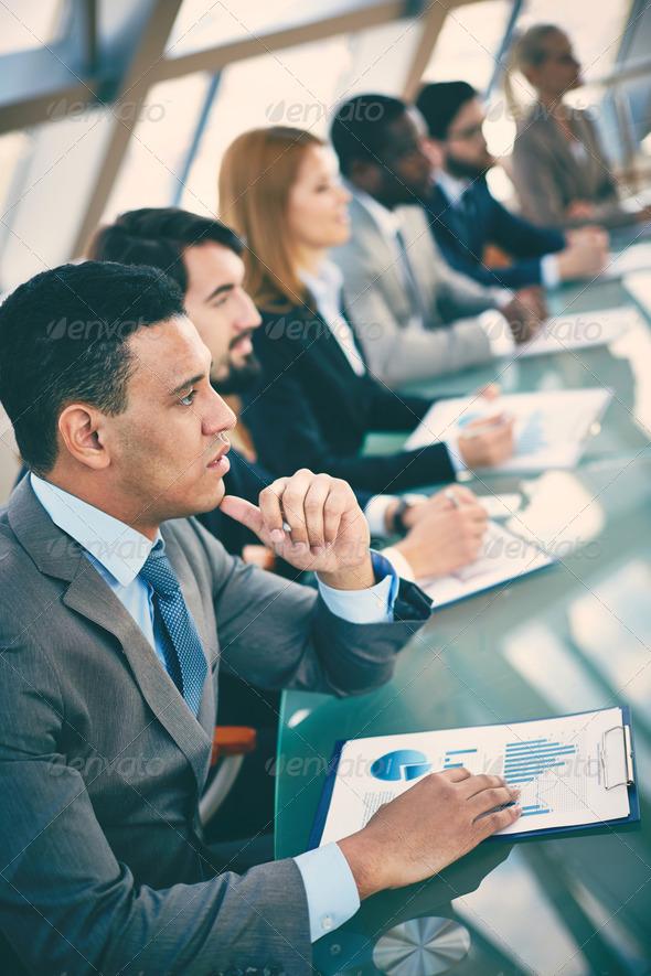 Business training - Stock Photo - Images