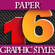 Set of Colorful Paper Graphic Styles for Design - GraphicRiver Item for Sale