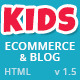 Kids Planet - Responsive Ecommerce/Blog HTML Theme Nulled