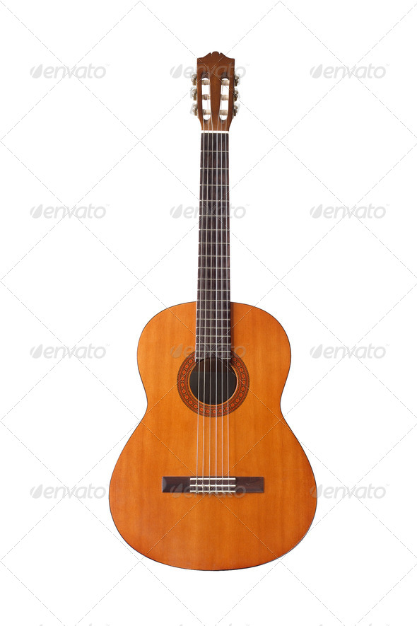 Classical Guitar - Stock Photo - Images