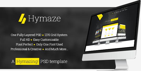 Hymaze - PSD - Creative PSD Templates