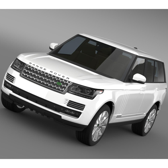 Range Rover Supercharged L405 - 3DOcean Item for Sale