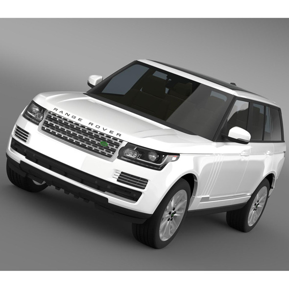 Range Rover Vogue SDV8 L405 - 3DOcean Item for Sale
