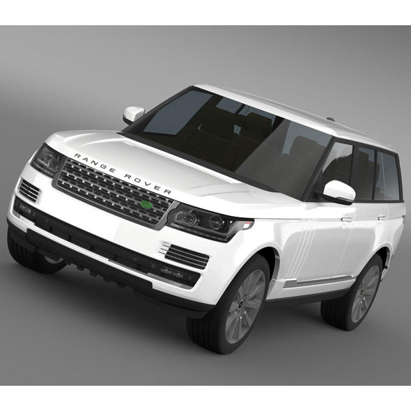 Range Rover Vogue SE SDV8 L405 - 3DOcean Item for Sale
