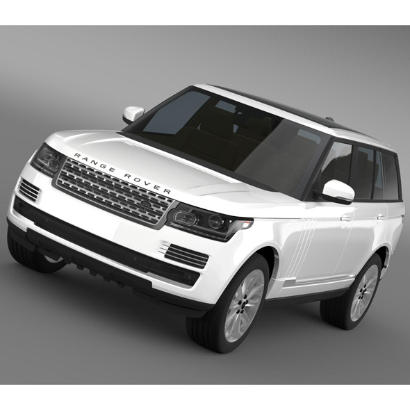Range Rover Vogue SE TDV6 L405 - 3DOcean Item for Sale