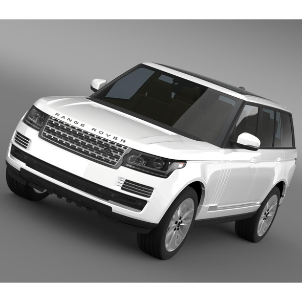 Range Rover Vogue TDV6 L405 - 3DOcean Item for Sale