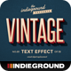 Retro Vintage Text Effects - GraphicRiver Item for Sale