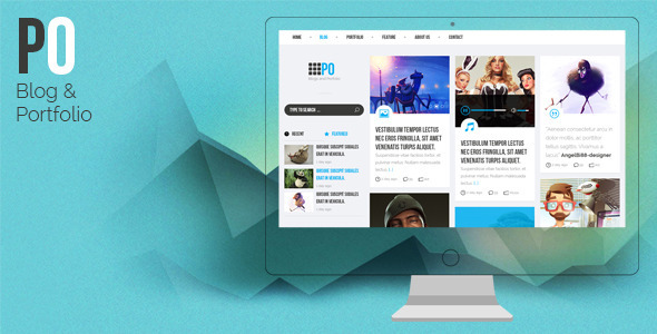 PO – Creative PSD Template