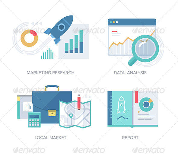 Marketing Concepts Collection - Technology Icons