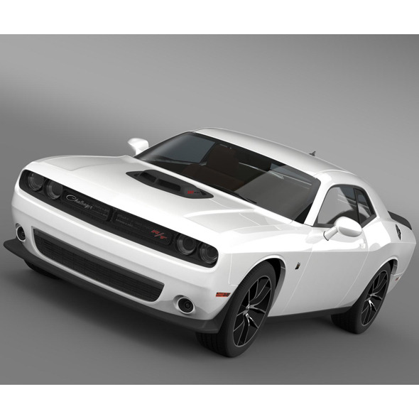 Dodge Challenger 392 HEMI Scat Pack Shaker LC 2015 - 3DOcean Item for Sale
