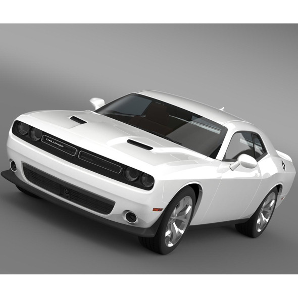Dodge Challenger SXT LC 2015 - 3DOcean Item for Sale