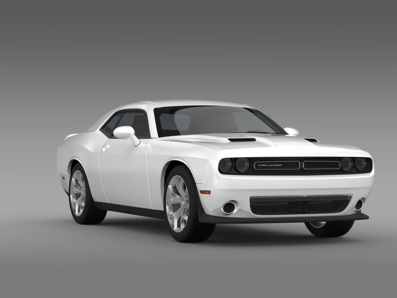 dodge challenger sxt lc 2015 by creator 3d 3docean. Black Bedroom Furniture Sets. Home Design Ideas